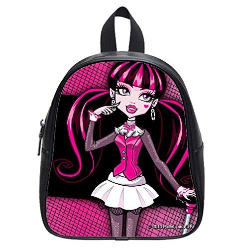 Custom Draculaura Monster High Backpack Kid's School Backpack Bag (Small) (Monster High Customs)