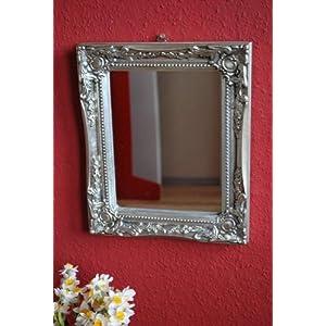 Spiegel Antik Silber Barock Landhaus Impressionen Wandspiegel