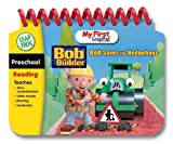 LeapFrog My First LeapPad Book: Bob the Builder Saves the Hedgehogs