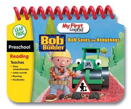 Leap Frog My First Leap Pad: Bob the Builder Saves the Hedgehogs