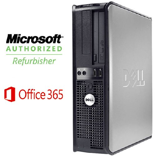 Dell Optiplex 755 Desktop 4Gb Memory-Microsoft Office 365- Windows 7 Professional- Intel Core 2 Duo Processor