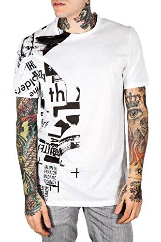 ANTONY MORATO - T-shirt da uomo american fit mmks00765/fa100064 xl bianco
