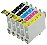5 Pack Compatible Epson EPSON 60 /