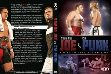 official-ring-of-honor-roh-samoe-joe-v-cm-punk-triliogy-collectors-edition-2-disc-dvd