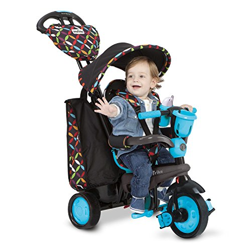 Smart Trike Touch Steering Boutique - Red