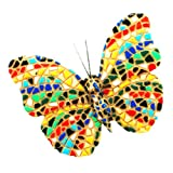 Barcino Mosaic Butterfly Magnet