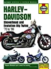 Harley-Davidson Shovelhead & Evolution Big Twins Haynes Repair Manual (1970-1999)