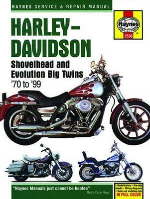 Harley-Davidson Shovelhead & Evolution Big Twins Haynes Repair Manual (1970-1999)