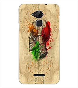 PrintDhaba Multicolour Skull D-5535 Back Case Cover for COOLPAD NOTE 3 LITE (Multi-Coloured)