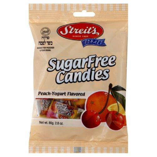 Streit's Sugar Free, Peach Yogurt Hard Candy, 2.80-Ounce (Pack of 6)