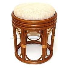 Round Stool w/ Cushion