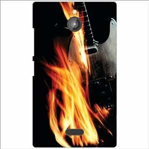 Nokia X2 Back Cover - Fire Designer Cases