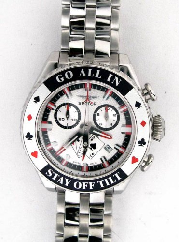 Sector Men's Poker chronograph watch #3253991245 - Buy Sector Men's Poker chronograph watch #3253991245 - Purchase Sector Men's Poker chronograph watch #3253991245 (Sector, Jewelry, Categories, Watches, Men's Watches, By Movement, Swiss Quartz)
