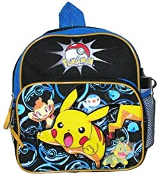 Pokemon Picachu Toddler Backpack w/ Water Bottle