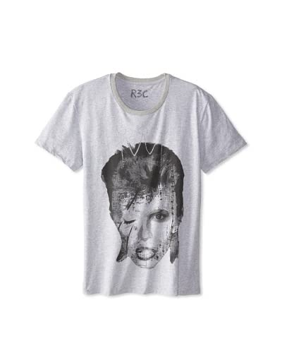 R3C by Reception (LAB) Men's Bowie Short Sleeve Graphic T-Shirt