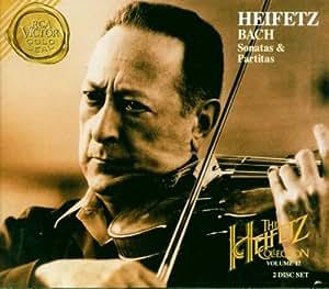 Bach: Sonatas & Partitas (The Heifetz Collection, Vol. 17)
