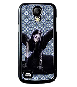 PrintVisa Metal Printed Anjel Designer Back Case Cover for Samsung Galaxy S4 Mini I9190/ I9192-D4870