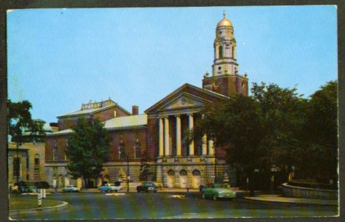 Bushnell Memorial Hartford Ct Postcard 1950S