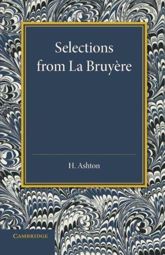 Selections de La Bruyère