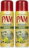 Pam Organic Olive Oil No-Stick Cooking Spray - 5 oz - 2 pk