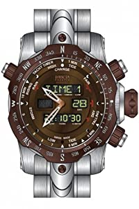 Invicta Men's 12589 Venom Quartz Multifunction Brown Dial Watch