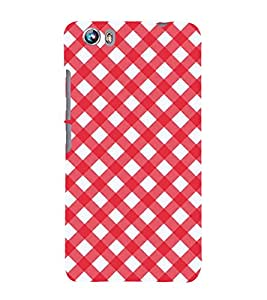 99Sublimation Animated Pattern OF houndstooth 3D Hard Polycarbonate Designer Back Case Cover for Micromax Canvas Fire 4 A107