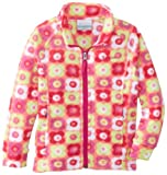 Columbia Little Girls  Benton Springs Printed Fleece Hoodie