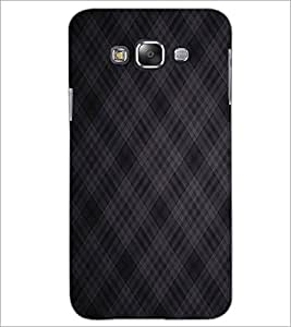 PrintDhaba Diamond pattern D-2402 Back Case Cover for SAMSUNG GALAXY E7 (Multi-Coloured)