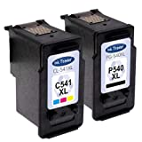 Canon PG-540XL & CL-541XL Ink Cartridges Remanufactured (Black & Colour, High Capacity) for use with Canon Pixma MG2100 MG2150 MG2250 MG3100 MG3150 MG3155 Printers by Ink Trader