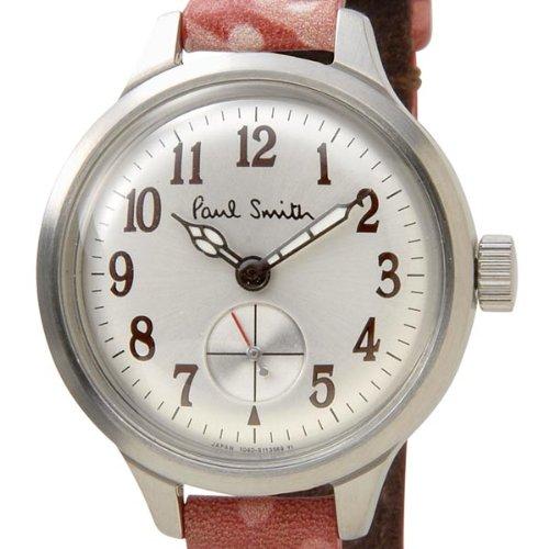 ポールスミス 腕時計 BB5-312-90 シルバー/レッドレザー クォーツ レディース ウォッチ 腕時計 Paul Smith [並行輸入品]