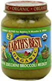 [FFP] Earths Best Third Foods, Zucchini Broccoli Medley, 6 Ounce (Pack of 12)