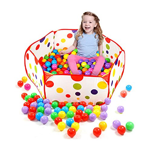 Taby Tray Kids Indoor/Outdoor Portable Play Toy, Ocean Ball Pit Pool Tent