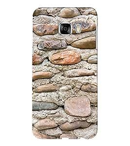 EPICCASE Pebbles and sand Mobile Back Case Cover For Samsung C5 (Designer Case)