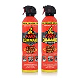 Fire Command Fire Extinguisher Suppressant Spray, Stops Fires Fast, 16-Ounce Can (Pack Of 2)
