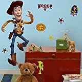 Roommates Rmk1430Gm Toy Story Woody Peel & Stick Giant Wall Decal