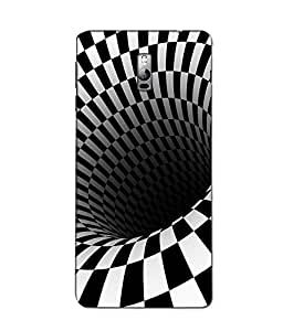 instyler DIGITAL PRINTED BACK COVER FOR ONE PLUS TWO (1+2)