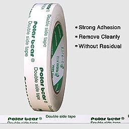 Polar Bear® Double Sided Mounting Tape, 1 inch X 5.5 yds (EZ-24A),Magic Foam tape