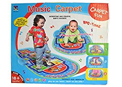 Bi Le Jia Toys-YY591-Music Carpet-100 x 50 cm - Blue
