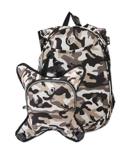 Obersee Innsbruck Diaper Bag Backpack With Detachable Cooler, Camo