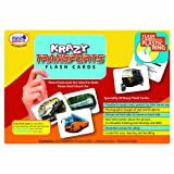 Krazy Transport - Flash Cards With Ring