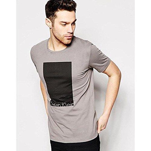 (カルバンクライン) Calvin Klein メンズ トップス Tシャツ Calvin Klein Jeans T-Shirt With Box Logo Print 並行輸入品