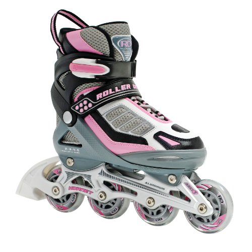 Roller Derby Hornet Pro Adjustable Girl's Inline Skates Skate