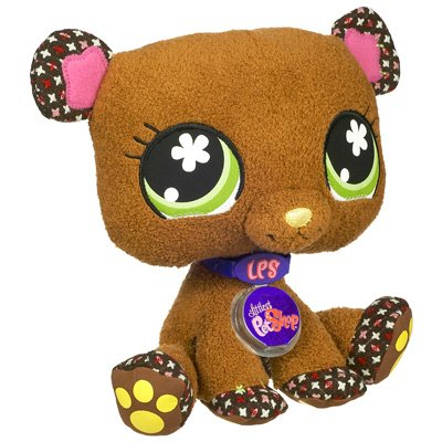 Buy Low Price Hasbro Littlest Pet Shop VIP Virtual Interactive Pet Plush Figure Bear (B001H5114G)