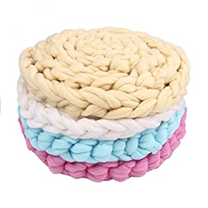 ColorName Newborn Baby Photography Backdrop Braid Wool Wrap Baby Photo Props