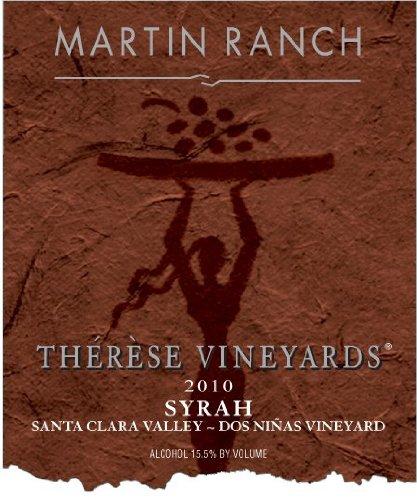 2010 Martin Ranch Winery Therese Vineyards Syrah 750 Ml
