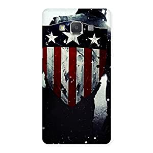 HWC Vintage Star Back Case Cover for Galaxy Grand Max