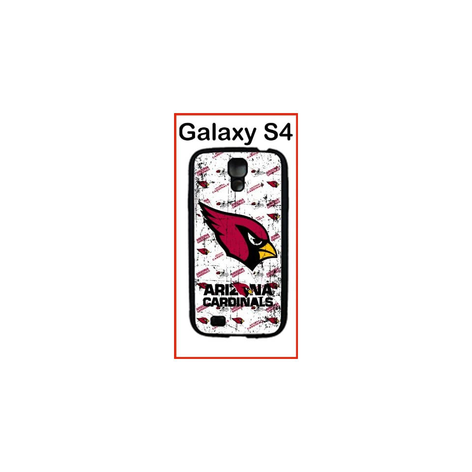 NFL Arizona Cardinals Case for Samsung Galaxy S4 Case Silicone Case