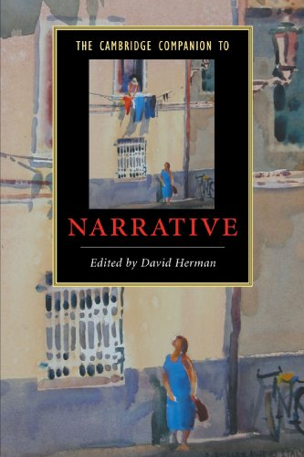 The Cambridge Companion to Narrative (Cambridge Companions to Literature)
