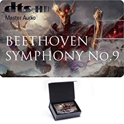 Beethoven Symphony No .9 High Definition Music Card [Blu-ray]