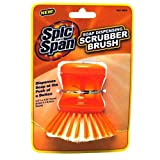 51F bMkoFEL. SL160  Spic and Span Kleen Maid 00844 Orange One Size Soap Dispensing Brush